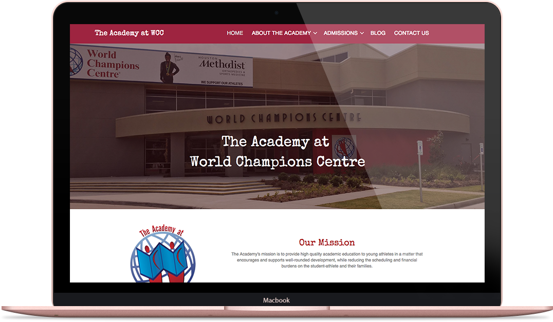 Website for Local Academy
